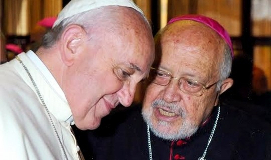 CATHOLICVS-Papa-Francisco-y-Franghiskos-Papamanolis-and-Pope-Francis