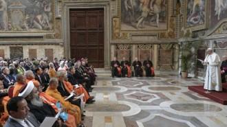 PapaAudienciaConferenciaReligiones_8marzo2019_VaticanMedia