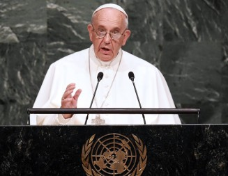 Francisco hablará en la ONU