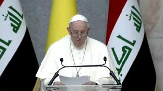iraq papa discorso