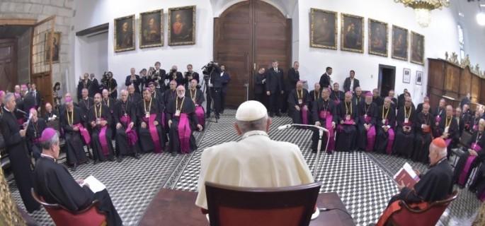 obispos-Papa-Fracnisco-Chile