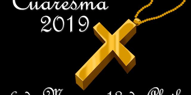 cuaresma 2019_